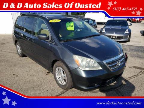 2005 Honda Odyssey for sale at D & D Auto Sales Of Onsted in Onsted MI