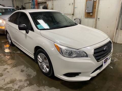 2015 Subaru Legacy for sale at BERG AUTO MALL & TRUCKING INC in Beresford SD