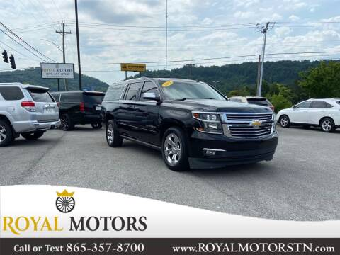 2015 Chevrolet Suburban for sale at ROYAL MOTORS LLC in Knoxville TN