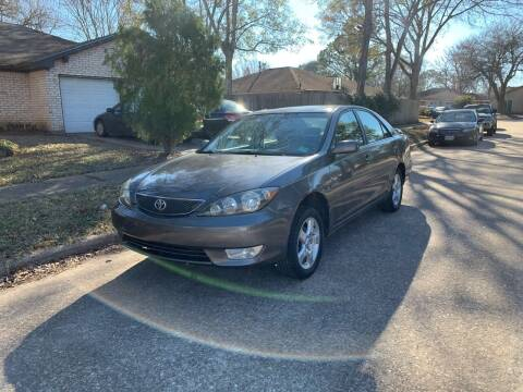 2006 Toyota Camry for sale at Demetry Automotive in Houston TX