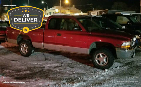 1998 Dodge Dakota for sale at Tower Motors in Brainerd MN