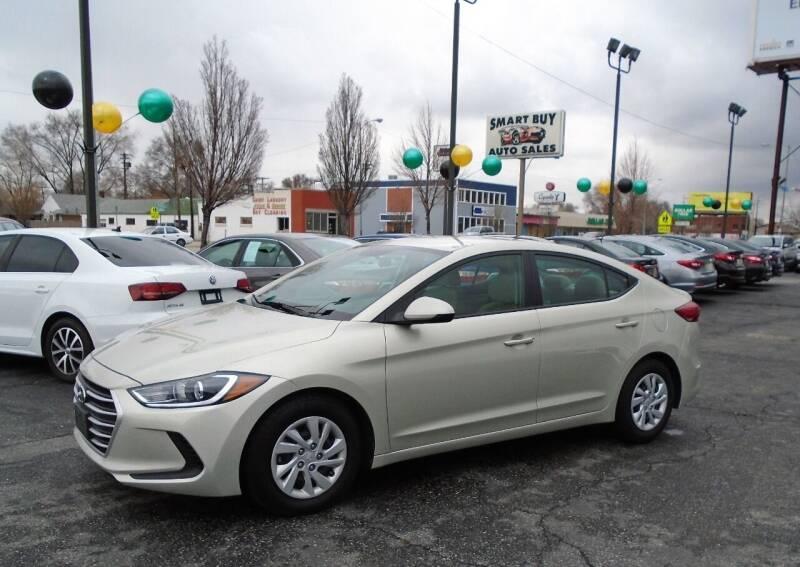 2017 Hyundai Elantra for sale at Smart Buy Auto Sales in Ogden UT