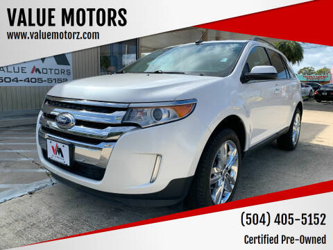 2011 Ford Edge for sale at VALUE MOTORS in Kenner LA