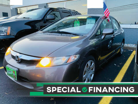 2011 Honda Civic for sale at BUENDIA AUTO GROUP in Hasbrouck Heights NJ
