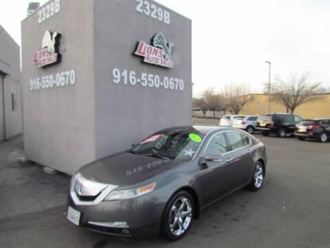 2011 Acura TL for sale at LIONS AUTO SALES in Sacramento CA