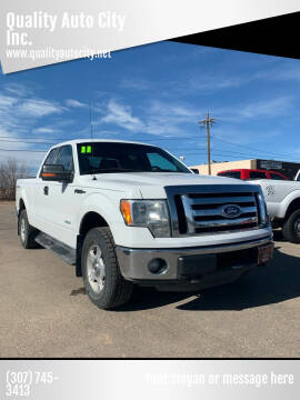 2011 Ford F-150 for sale at Quality Auto City Inc. in Laramie WY