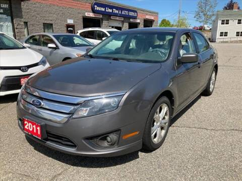 2011 Ford Fusion for sale at AutoCredit SuperStore in Lowell MA
