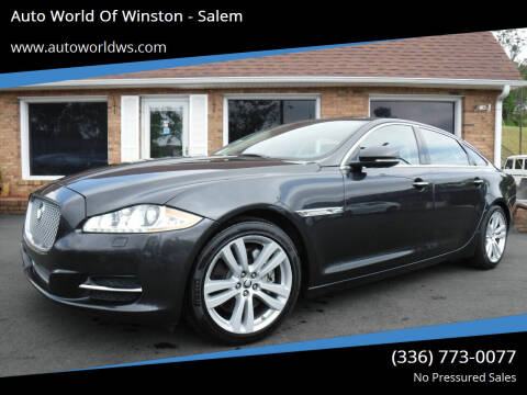 2011 Jaguar XJL for sale at Auto World Of Winston - Salem in Winston Salem NC