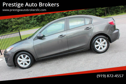 2010 Mazda MAZDA3 for sale at Prestige Auto Brokers in Raleigh NC