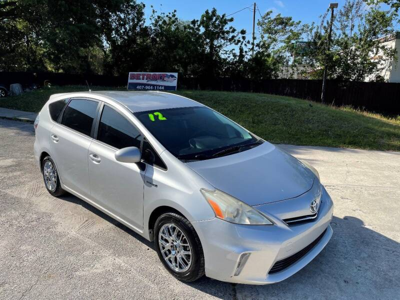 2012 Toyota Prius v for sale at Detroit Cars and Trucks in Orlando FL