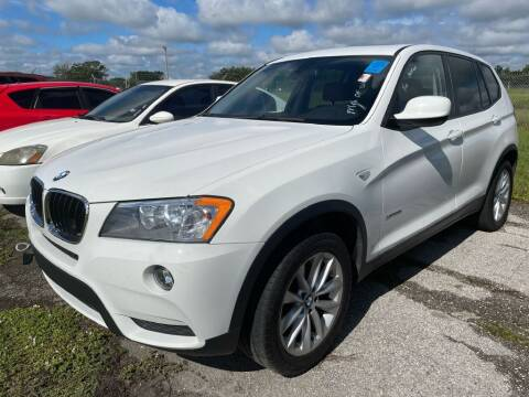 2013 BMW X3 for sale at Krifer Auto LLC in Sarasota FL
