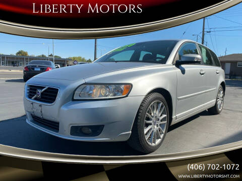 2010 Volvo V50 for sale at Liberty Motors in Billings MT