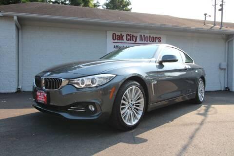 2014 BMW 4 Series for sale at Oak City Motors in Garner NC