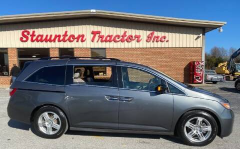 2011 Honda Odyssey for sale at STAUNTON TRACTOR INC in Staunton VA