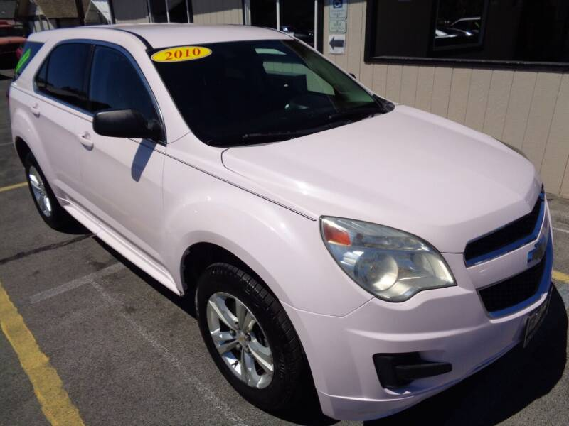 2010 Chevrolet Equinox for sale at BBL Auto Sales in Yakima WA
