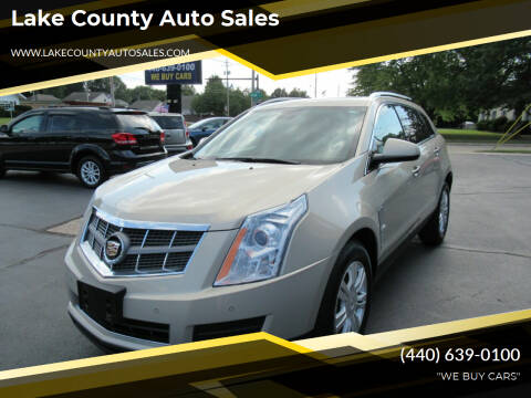 2011 Cadillac SRX for sale at Lake County Auto Sales in Painesville OH