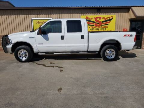 2007 Ford F-250 Super Duty for sale at BIG 'S' AUTO & TRACTOR SALES in Blanchard OK