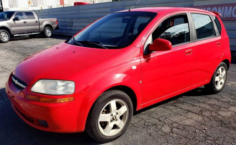 2007 Chevrolet Aveo for sale at Jackson Motors Used Cars in San Antonio TX