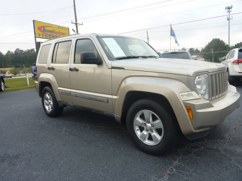2011 Jeep Liberty for sale at Roswell Auto Imports in Austell GA