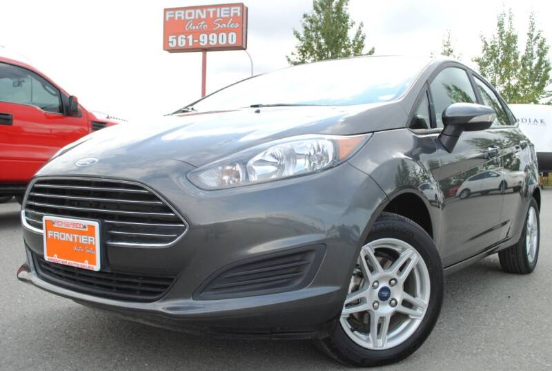 2019 Ford Fiesta for sale at Frontier Auto & RV Sales in Anchorage AK