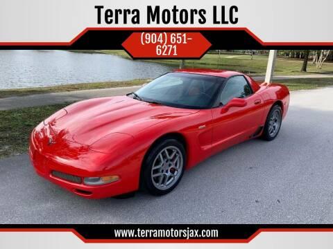2004 Chevrolet Corvette for sale at Terra Motors LLC in Jacksonville FL