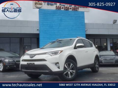 2018 Toyota RAV4 for sale at Tech Auto Sales in Hialeah FL