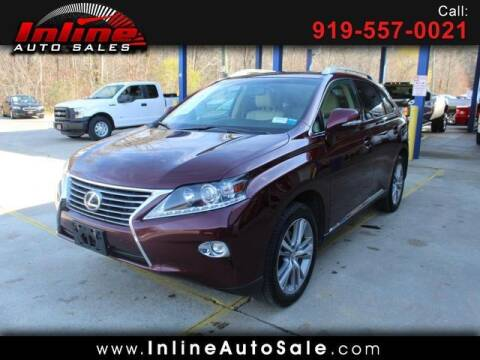 2015 Lexus RX 350 for sale at Inline Auto Sales in Fuquay Varina NC