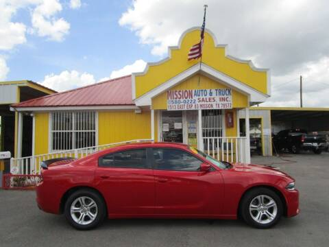 2015 Dodge Charger for sale at Mission Auto & Truck Sales, Inc. in Mission TX