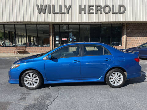 2010 Toyota Corolla for sale at Willy Herold Automotive in Columbus GA