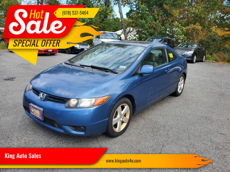 2007 Honda Civic for sale at King Auto Sales in Leominster MA