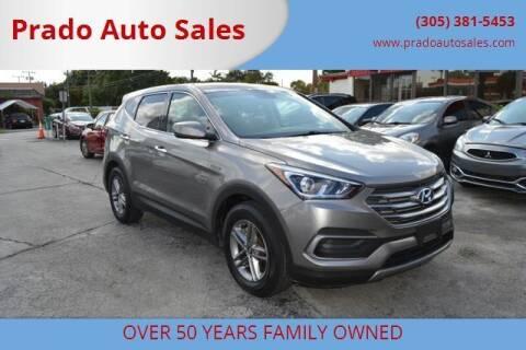 2018 Hyundai Santa Fe Sport for sale at Prado Auto Sales in Miami FL