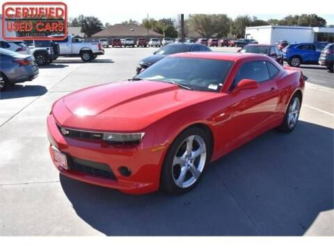 2015 Chevrolet Camaro for sale at South Plains Autoplex by RANDY BUCHANAN in Lubbock TX