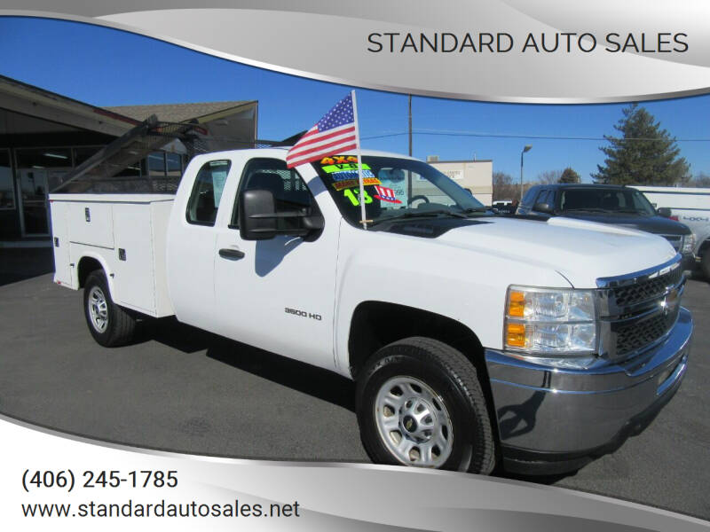 2013 Chevrolet Silverado 3500HD for sale at Standard Auto Sales in Billings MT