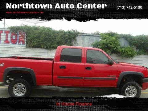 2004 Chevrolet Silverado 2500HD for sale at Northtown Auto Center in Houston TX