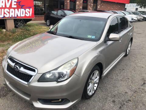 2014 Subaru Legacy for sale at HW Auto Wholesale in Norfolk VA