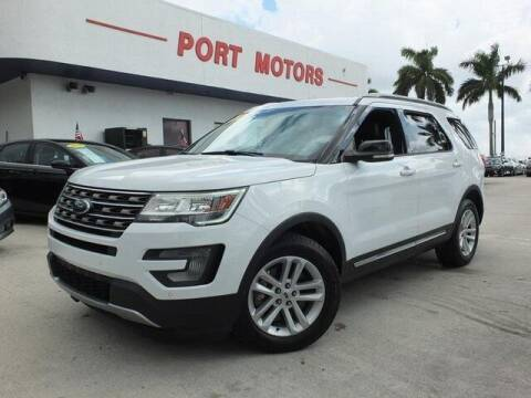 2016 Ford Explorer for sale at Automotive Credit Union Services in West Palm Beach FL