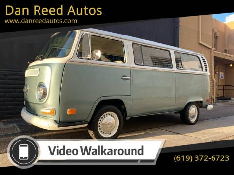 1971 Volkswagen Bus for sale at Dan Reed Autos in Escondido CA