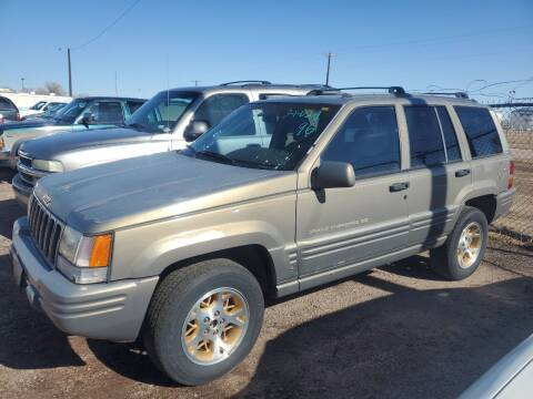 1996 Jeep Grand Cherokee for sale at PYRAMID MOTORS - Fountain Lot in Fountain CO