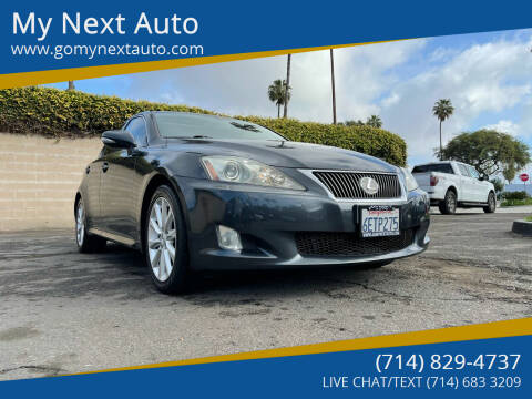 2009 Lexus IS 250 for sale at My Next Auto in Anaheim CA