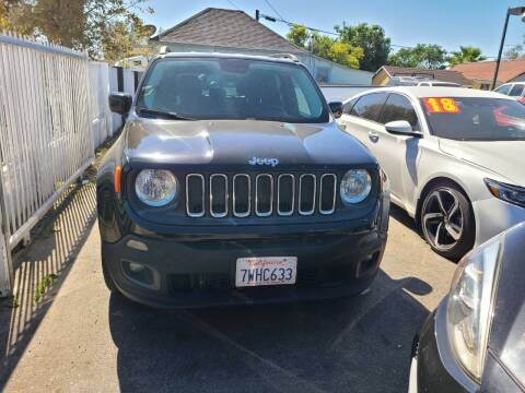 2016 Jeep Renegade for sale at E and M Auto Sales in Bloomington CA