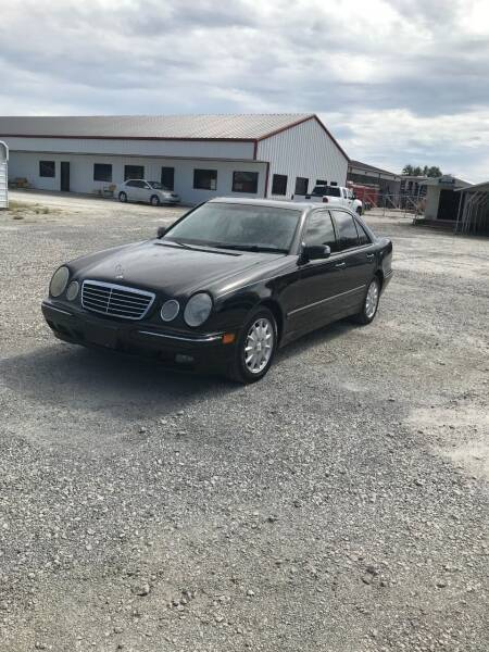 2001 Mercedes-Benz E-Class for sale at CAROLINA TOY SHOP LLC in Hartsville SC