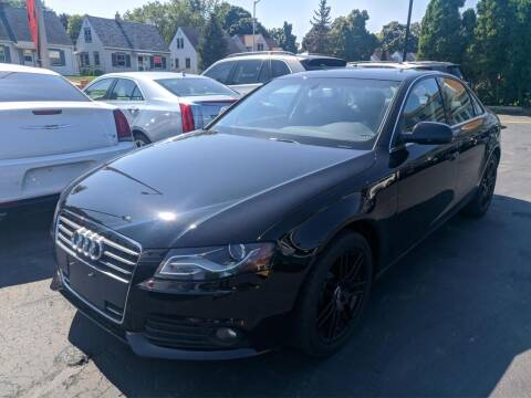 2012 Audi A4 for sale at CLASSIC MOTOR CARS in West Allis WI