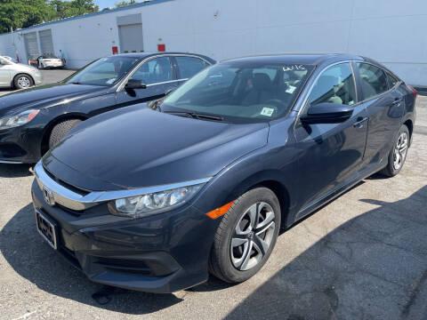 2018 Honda Civic for sale at JerseyMotorsInc.com in Teterboro NJ