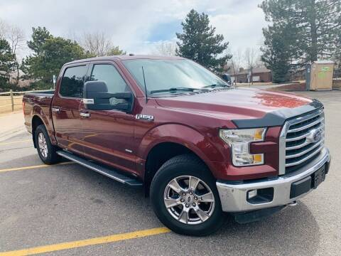 2016 Ford F-150 for sale at CarDen in Denver CO