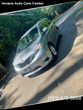 2011 Toyota Sienna for sale at Amana Auto Care Center in Raleigh NC