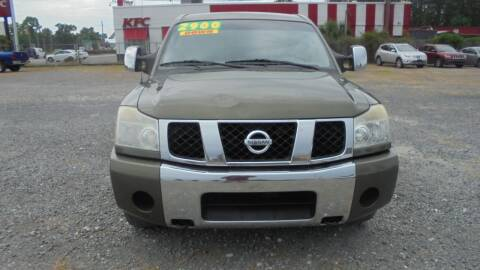2005 Nissan Titan for sale at Auto Mart - Moncks Corner in Moncks Corner SC