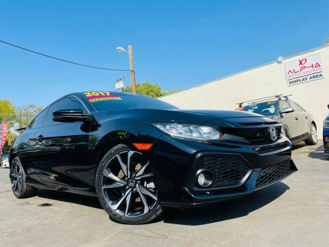 2017 Honda Civic for sale at Alpha AutoSports in Roseville CA