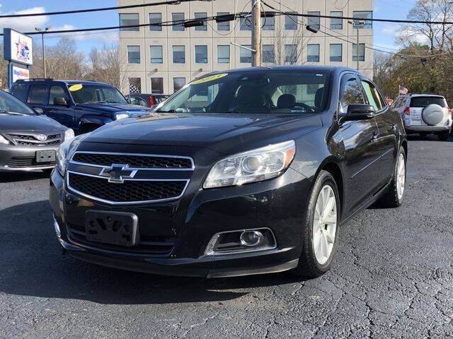 2013 Chevrolet Malibu for sale at All Star Auto  Cycle in Marlborough MA