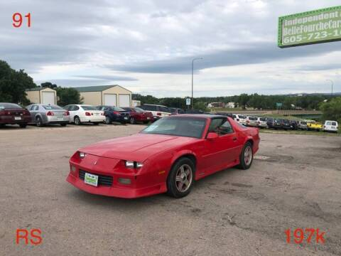 1991 Chevrolet Camaro for sale at Independent Auto in Belle Fourche SD
