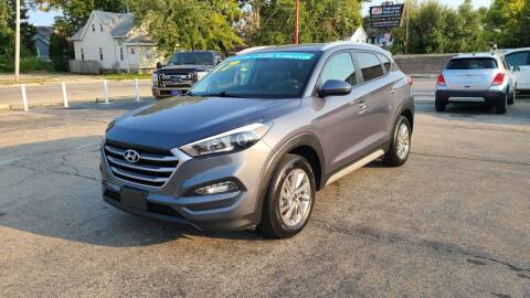 2017 Hyundai Tucson for sale at Bibian Brothers Auto Sales & Service in Joliet IL